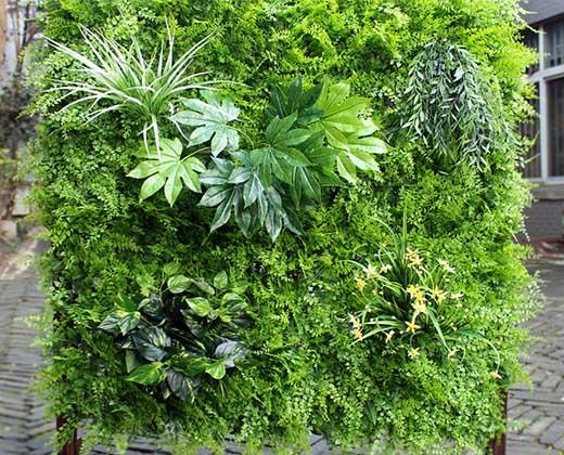 jardines verticales artificiales madrid