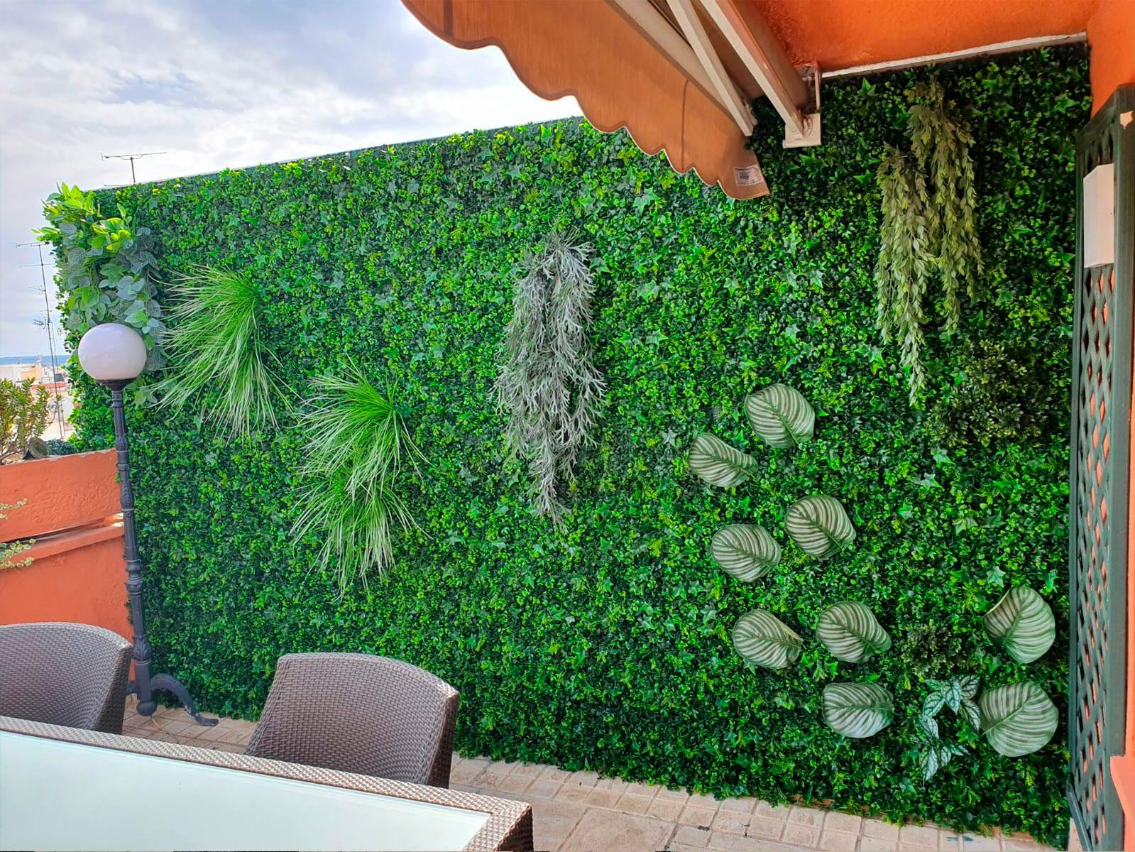 jardin vertical en goya