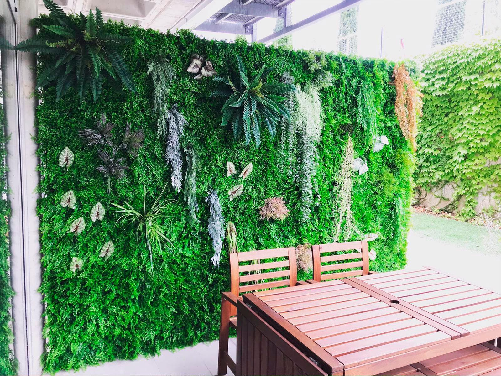 Jardin vertical Las Rozas