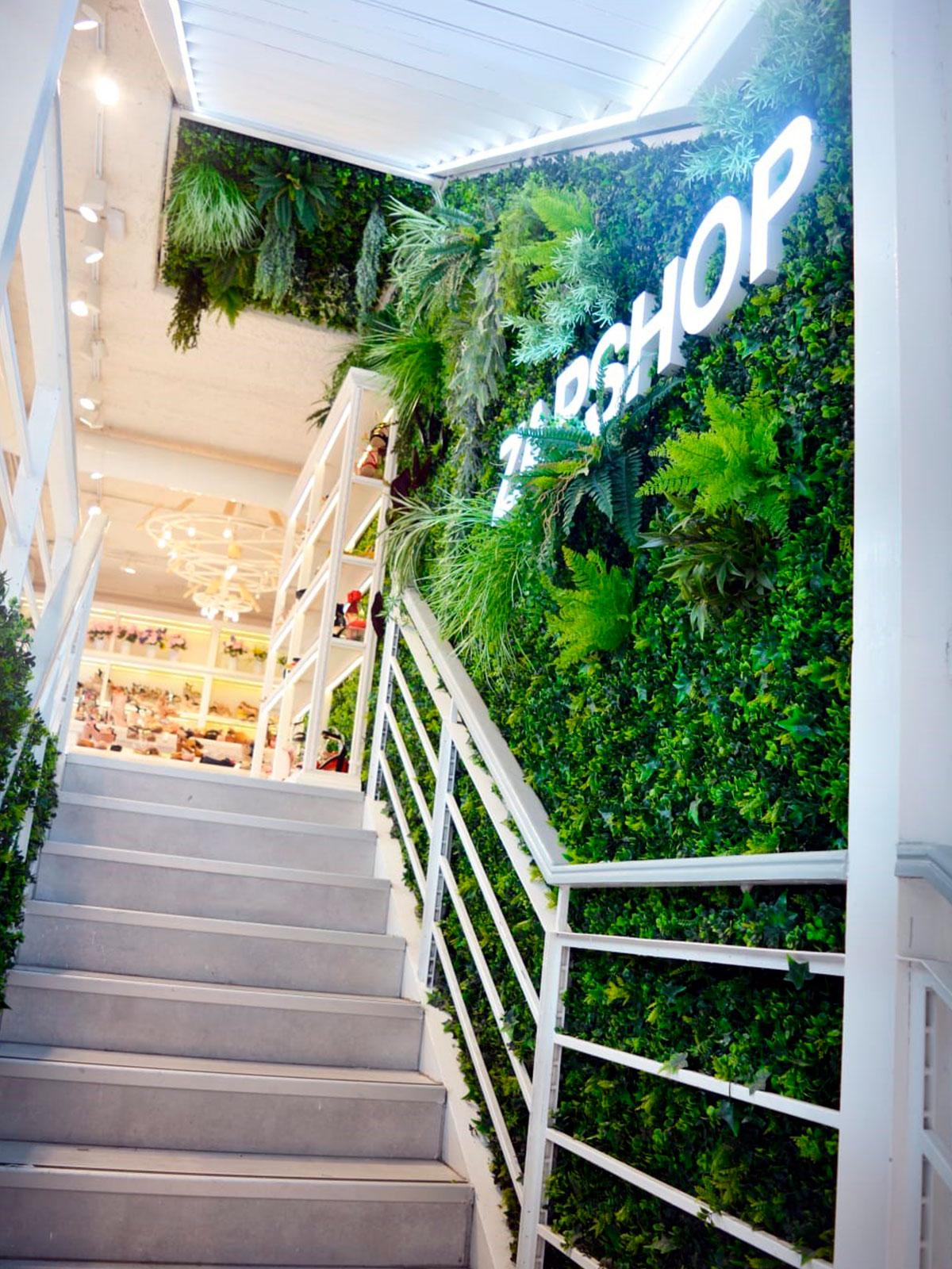 Jardines vertical en Madrid Centro