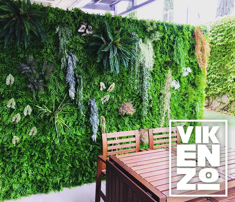 jardines verticales artificiales