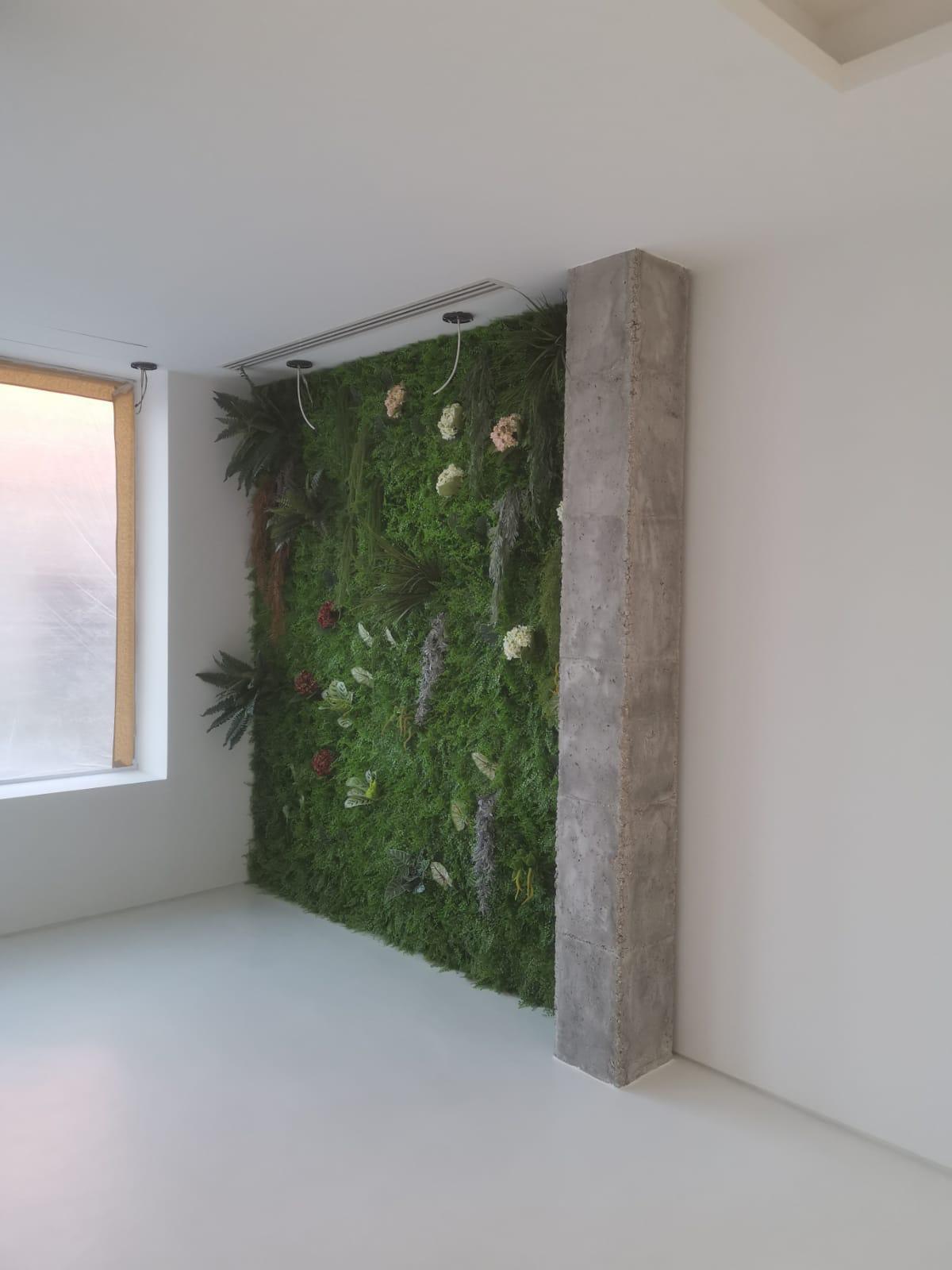 Jardin vertical Estudio de interiorismo