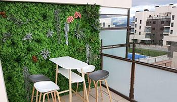 jardin vertical en colmenar de la oreja