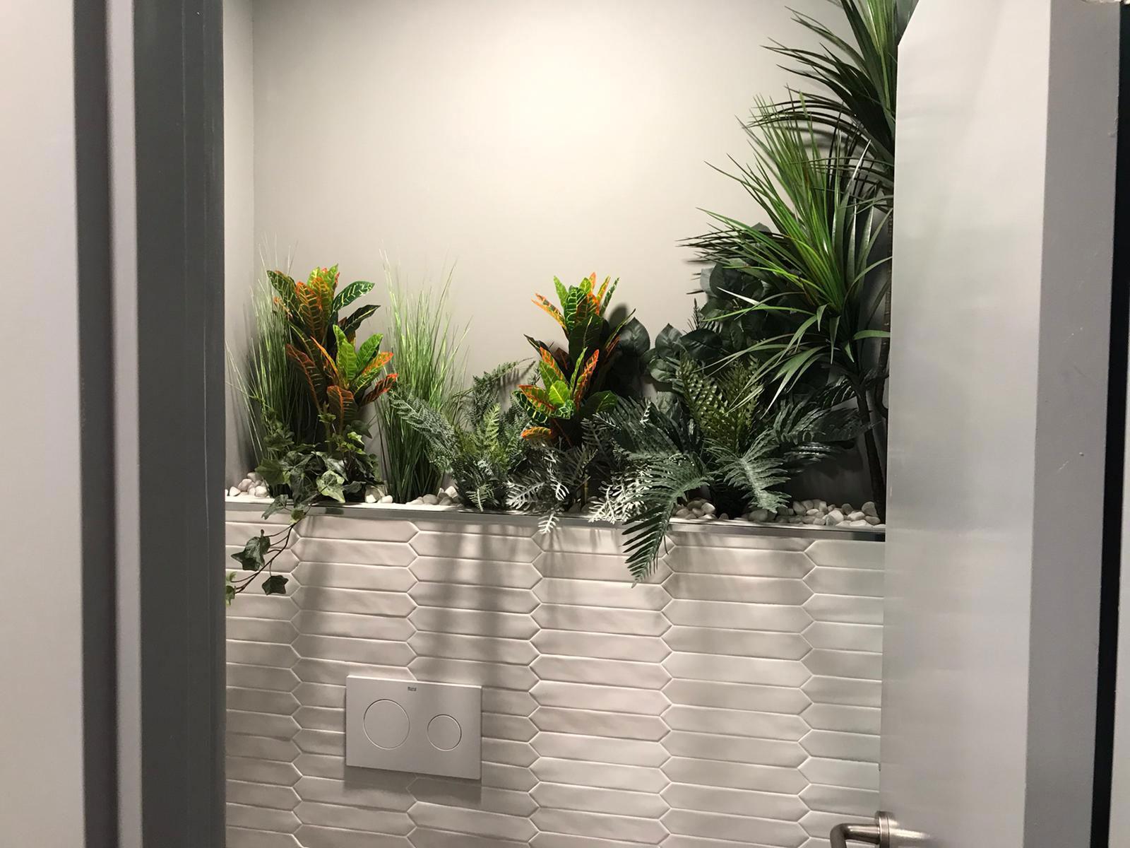 jardin vertical en hotel getafe