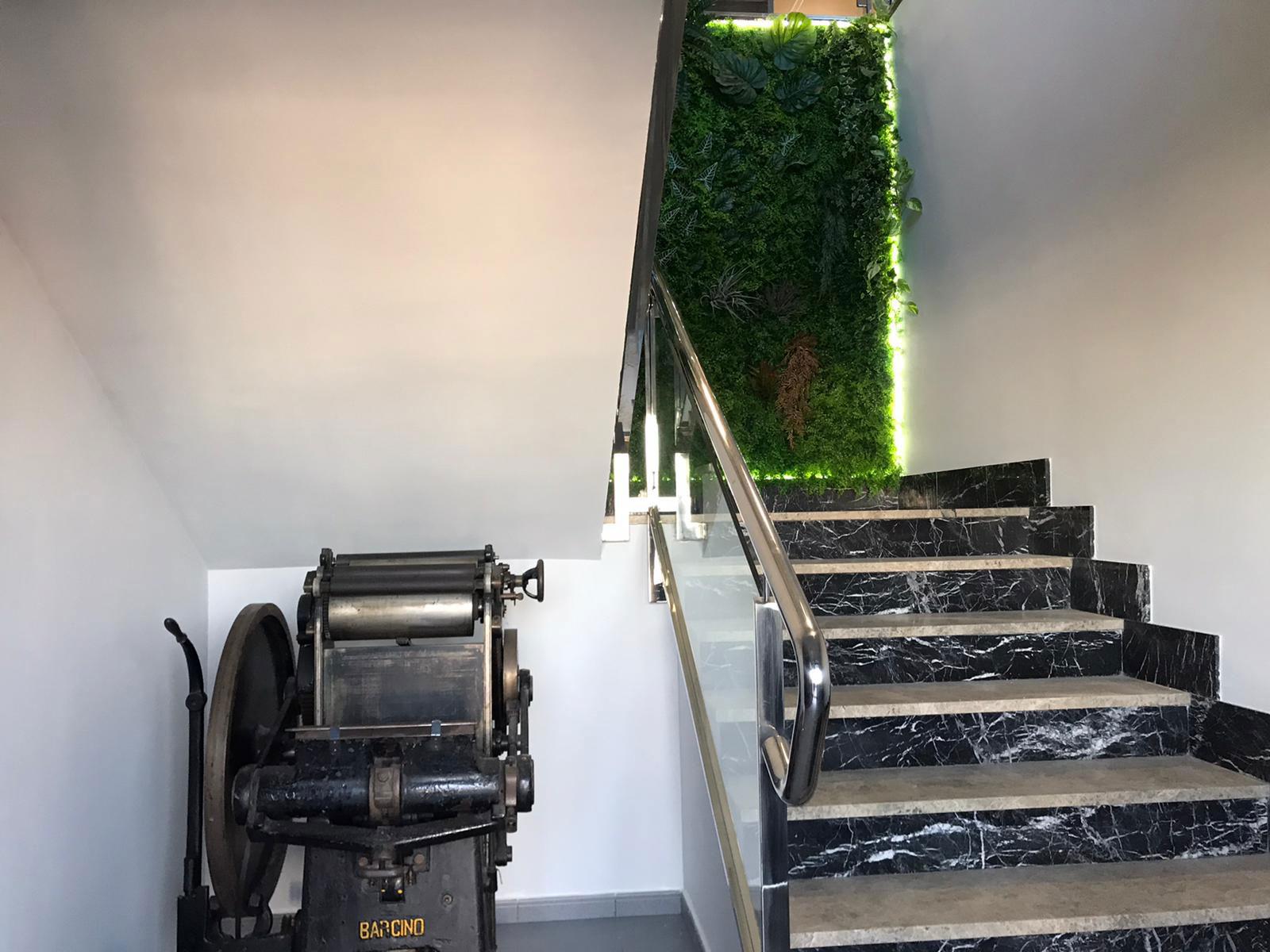 jardin vertical en leganes