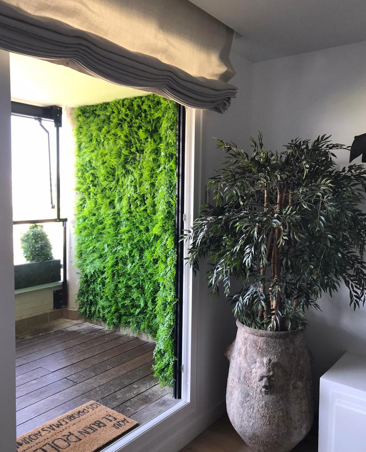 jardin vertical en montecarmelo