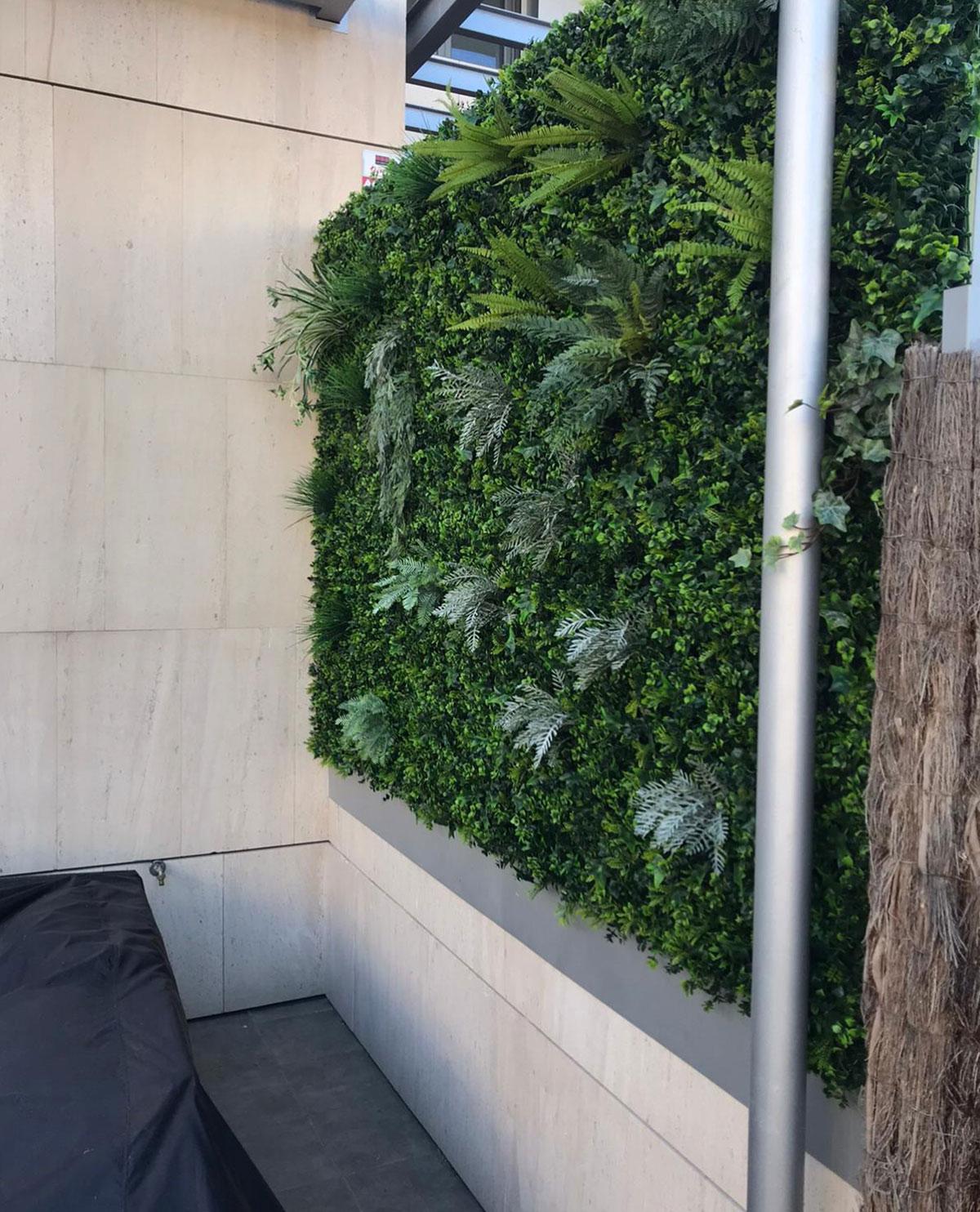 Jardin vertical en Boadilla del Monte