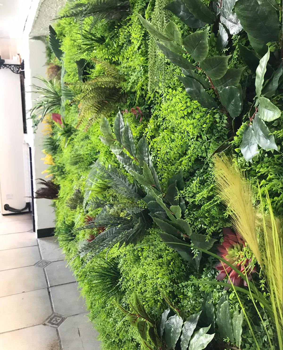 Jardin vertical en Chinchón