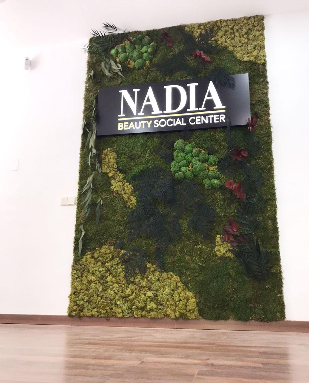 Jardin vertical en Moncloa Aravaca