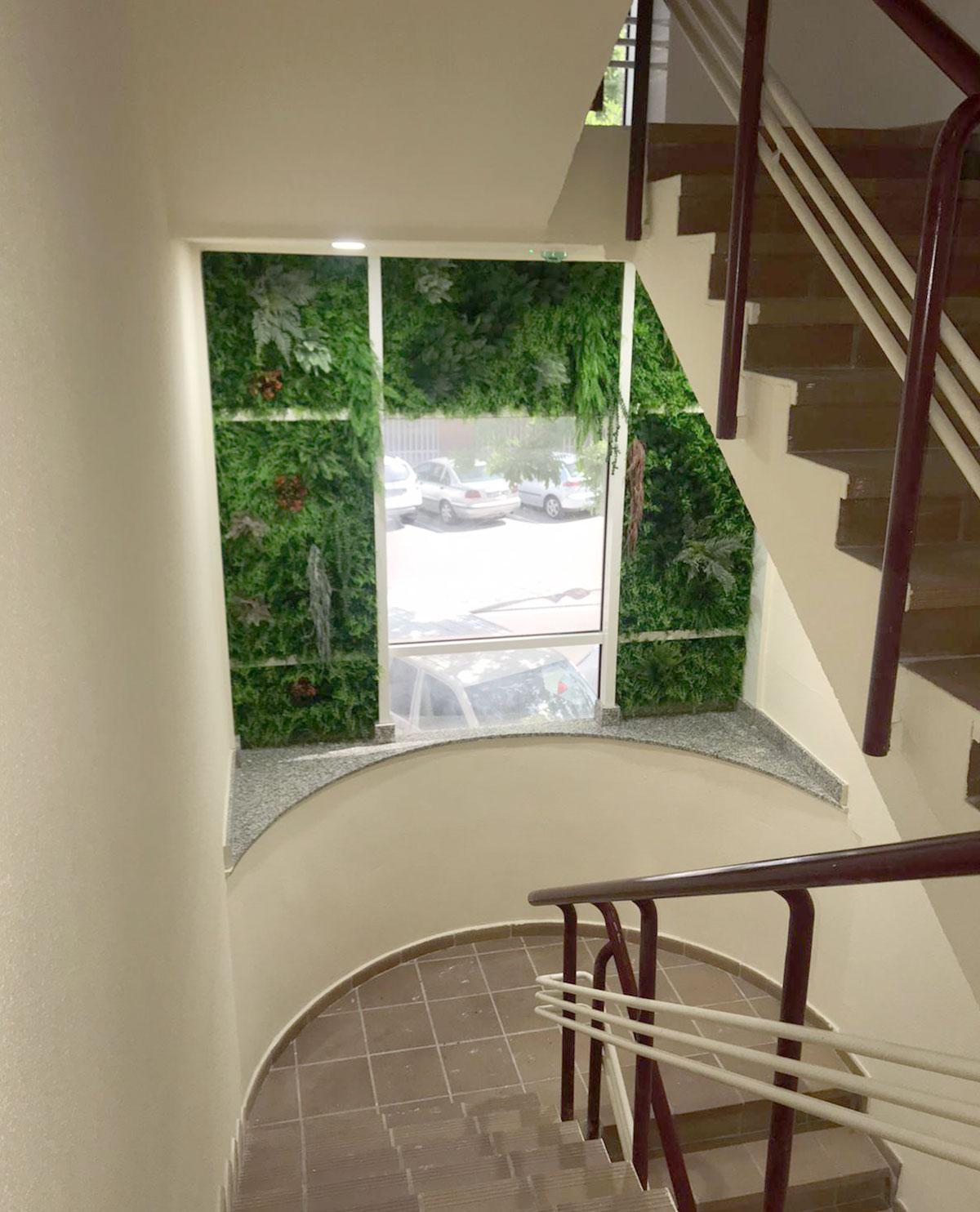 Jardin vertical en Torrejon de Ardoz